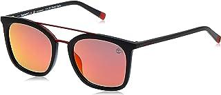 نظارات شمسية للرجال من تيمبرلاند TB916905D53 - اسود/ رمادي، مستقطبة - مدمجة
