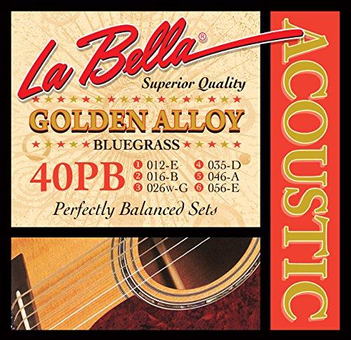 La Bella 40PB Aleación de Oro 012/056