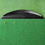 FORB Rubber Golf Ball Tray (Black) (42in x 11in x 3in) – Keep Your Golf Balls Under Control Down at The Driving Range [Net World Sports]