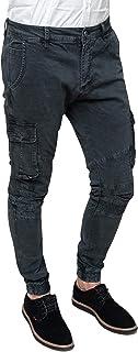 Amazon.es: pantalones hombre bolsillos laterales Vaqueros