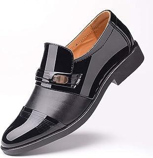 Dingziyue uomini moda business abiti Hollow scarpe scarpe uomo set di piedi Punch scarpe uomo (colore : nero pugno, taglia...