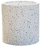 Kioiien Bellissimi vasi Nordic Semplice grande Pentole rotonde Pentole rotonde Stampato a mano succulente Vasi di fiori Cilindro Pianta piantatore Giardino esterno Giardino Bonsai Pentole Piante per g