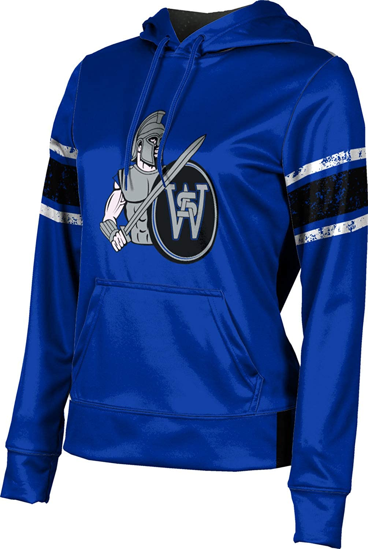 ProSphere South Warren High School Girls' Pullover Hoodie, School Spirit Sweatshirt (End Zone)