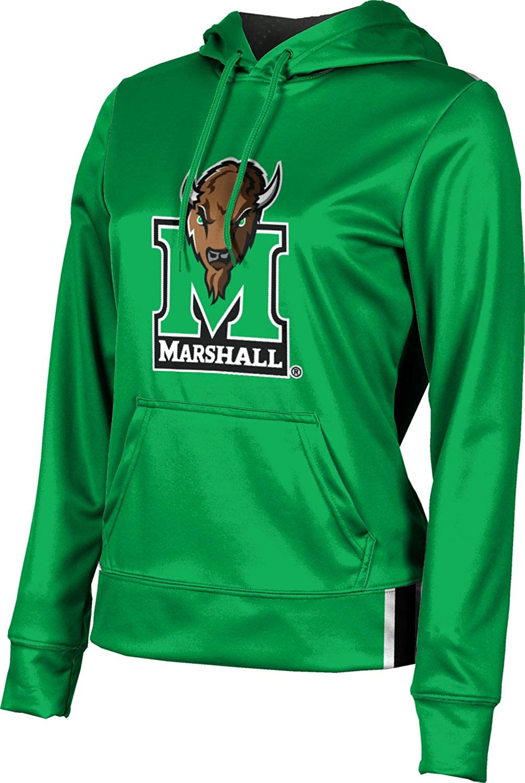 ProSphere Marshall University Girls' Pullover Hoodie, School Spirit Sweatshirt (Solid)