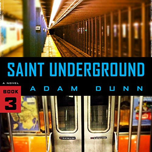 Saint Underground audiobook cover art