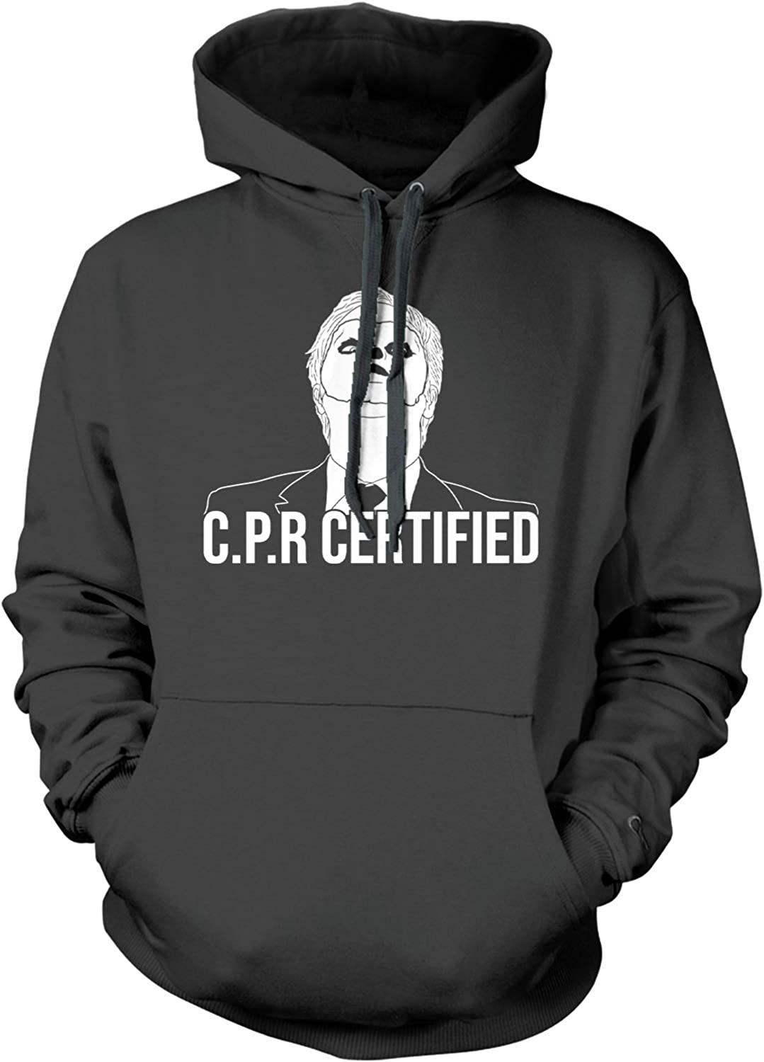Haase Unlimited CPR Certified - Face Free shipping on posting reviews Unisex Hoodie Dummy Dwight Import