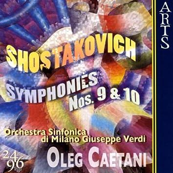 Shostakovich: Symphonies No. 9, Op. 70 & No. 10, Op. 93