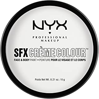 NYX PROFESSIONAL MAKEUP SFX Creme Colour, White, 0.21 Ounce