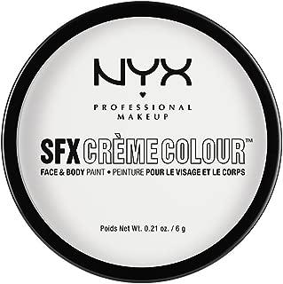 NYX PROFESSIONAL MAKEUP SFX Creme Colour, White, 0.21 Ounce