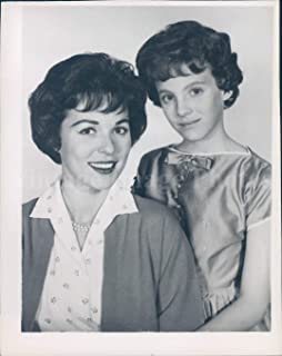 Vintage Photos 1960 Photo Bess Myerson Daughter Barbara Actress Television Model Miss America