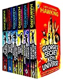 George's Secret Key to the Universe Complete 6 Books Collection Set by Lucy & Stephen Hawking (Secret Key to the Universe, Cosmic Treasure Hunt, Big Bang, Unbreakable Code, Blue Moon & Ship of Time)