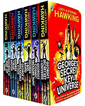 George s Secret Key to the Universe Complete 6 Books Collection Set by Lucy & Stephen Hawking  Secret Key to the Universe Cosmic Treasure Hunt Big Bang Unbreakable Code Blue Moon & Ship of Time