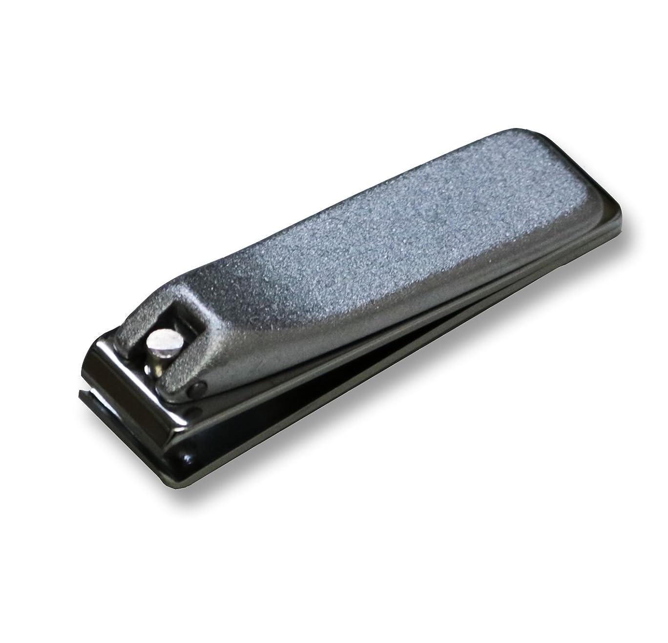 話にはまって圧縮するKD-035 関の刃物 クローム爪切 直刃 小 カバー無