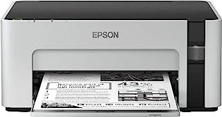 Epson EcoTank M1100 - inkjetprinter voor kantoor, zwart-wit (6.000 pagina's met elke inktfles)