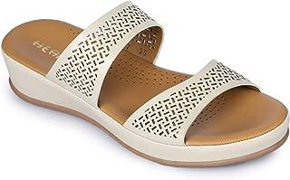 Liberty Healers Ladies Fashion Beige Slippers