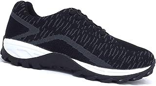 39d8d098687c Apis Mt. Emey 9705 Men s Lightweight Knitted Walking Shoe Leather mesh  lace-up