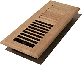 Decor Grates WL214-U Floor Register, 2x14, Unfinished Oak
