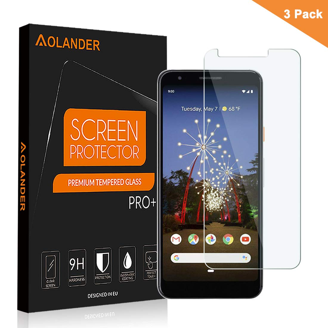 2 Pack] AGM X2 Protector de pantalla, aolander [0,3 mm, 2.5d ...
