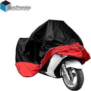 ULTIMATE HEAVY DUTY JDC Telo Copri Moto 100/% Impermeabile - XL con Bauletto Extra Heavy Duty, Fodera Felpata, Resistente al Calore, Cuciture Sigillate