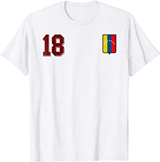 Venezuela Soccer T-Shirt Away Camiseta Vinotinto Futbol 18