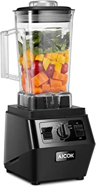 Blender, 35000 RPM High Speed Professional Countertop Blender for Shakes and Smoothies 1400W, Built-in 6 Auto-Programs & Pulse, Self-Cleaning, 70 Oz Dishwasher Tritan Jar BPA-Free, Aicok