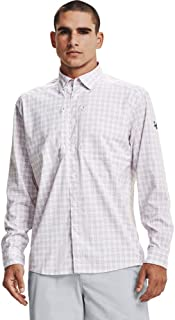 Under Armour Men's Tide Chaser 2.0 Plaid Fish Long-Sleeve T-Shirt