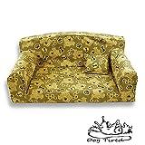 Galleta para perros cansados – Sofá para mascotas – Moderna cama para perros de 3 tamaños – Material moderno – Fabricado en Reino Unido (pequeño 82 x 46 x 34 cm)