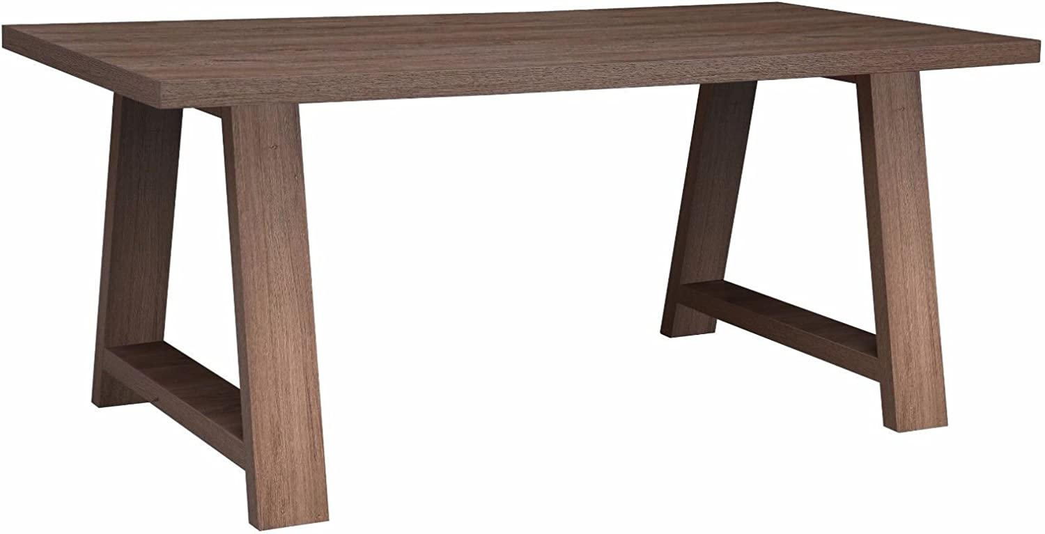 Tony Wooden Dining Table in Dark Oak