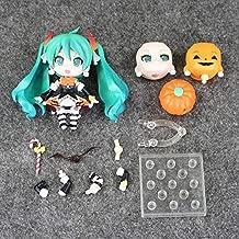 HAPP TRIX Hatsune Miku Figure 4''10cm Nendoroid Hatsune Miku Halloween Ver. #448 PVC Action Figure Model Collection Toy Hatsune Miku FigureWith Box