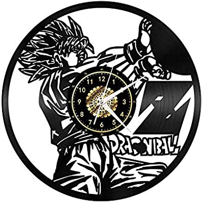 wwwff Reloj de Pared Personajes Serie Anime Ninja Disco de ...