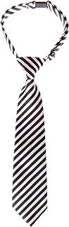 رابطة عنق للأولاد منسوجة مخططة ومربوطة مسبقًا - ألوان متنوعة