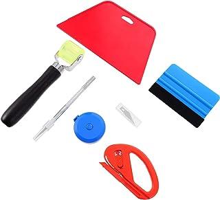 Scicalife Ferramentas de envelopamento de vinil para carro, kit de ferramentas para suavização de filme automático, raspad...
