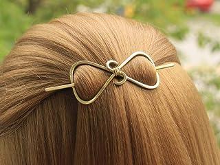 e4cc6b99f Handmade Minimalist Metal Hairpin Hair Clip Triangle Hair Accessories ( Copper,Brass,Nickel silver