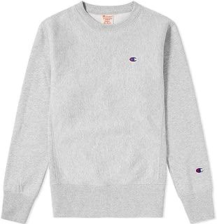 Europe Reverse Weave Men's Classic Crew Sweatshirt - Heather Grey Marl