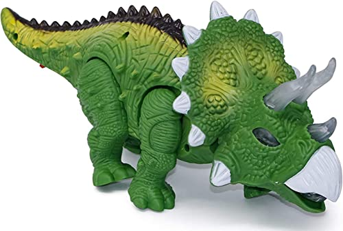 Urban Creation Walking /Moving Dinosaur Toy with Flashing Lights and Realistic Dinosaur Sounds Children's Kids Toy – ...