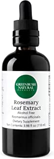 Greenbush Rosemary Concentrate | 4 oz Liquid Extract | Antioxidant Protection