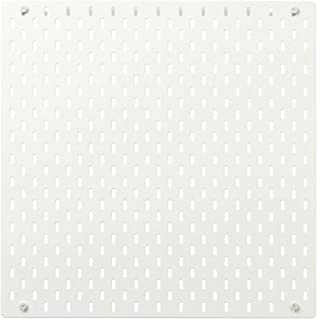 comprar comparacion My Stylo Collection - Tablero de clavijas, color blanco, 56 x 56 cm, material base: tablero de fibra, pintura acrílica de ...