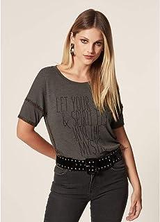 T-Shirt Malha Bordado Canutilho