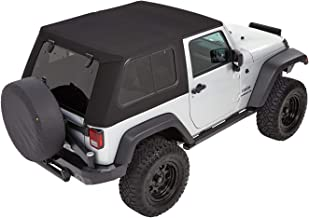 Bestop 5486217 Trektop Pro for Jeep Wrangler JK 2-Door in Black Twill