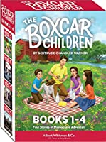 The Boxcar Children Mysteries: The Boxcar Children, Surprise Island, the Yellow House Mystery, & Mystery Ranch