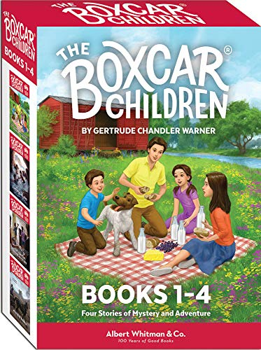 The Boxcar Children Books 1-4 ( ...