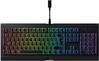 Razer Cynosa Chroma - Tastiera da Gaming a Membrana con Razer Chroma RGB, Design Robusto e Resistente all'Acqua, Key Roll-...