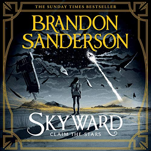 Skyward by Brandon Sanderson, how to read more, audiobooks, audible, manga, reading, books, read more, audiobook recommendations, good audiobooks,