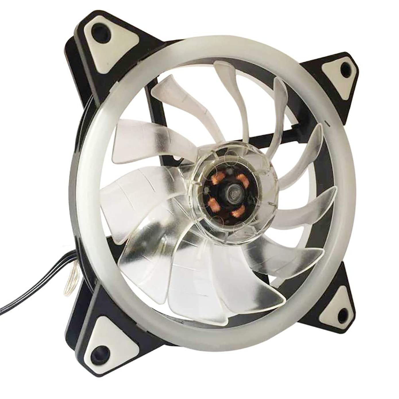 GOVOW-Tech 1212CM Computer Case PC Cooling Fan Adjust led 120mm Quiet Cooler Standard Low Noise Case Fan - High Tensile Strength - Innovative Design