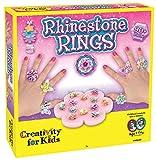 Creativity for Kids Rhinestone Ring Making Kit - Makes 12 Flower and...