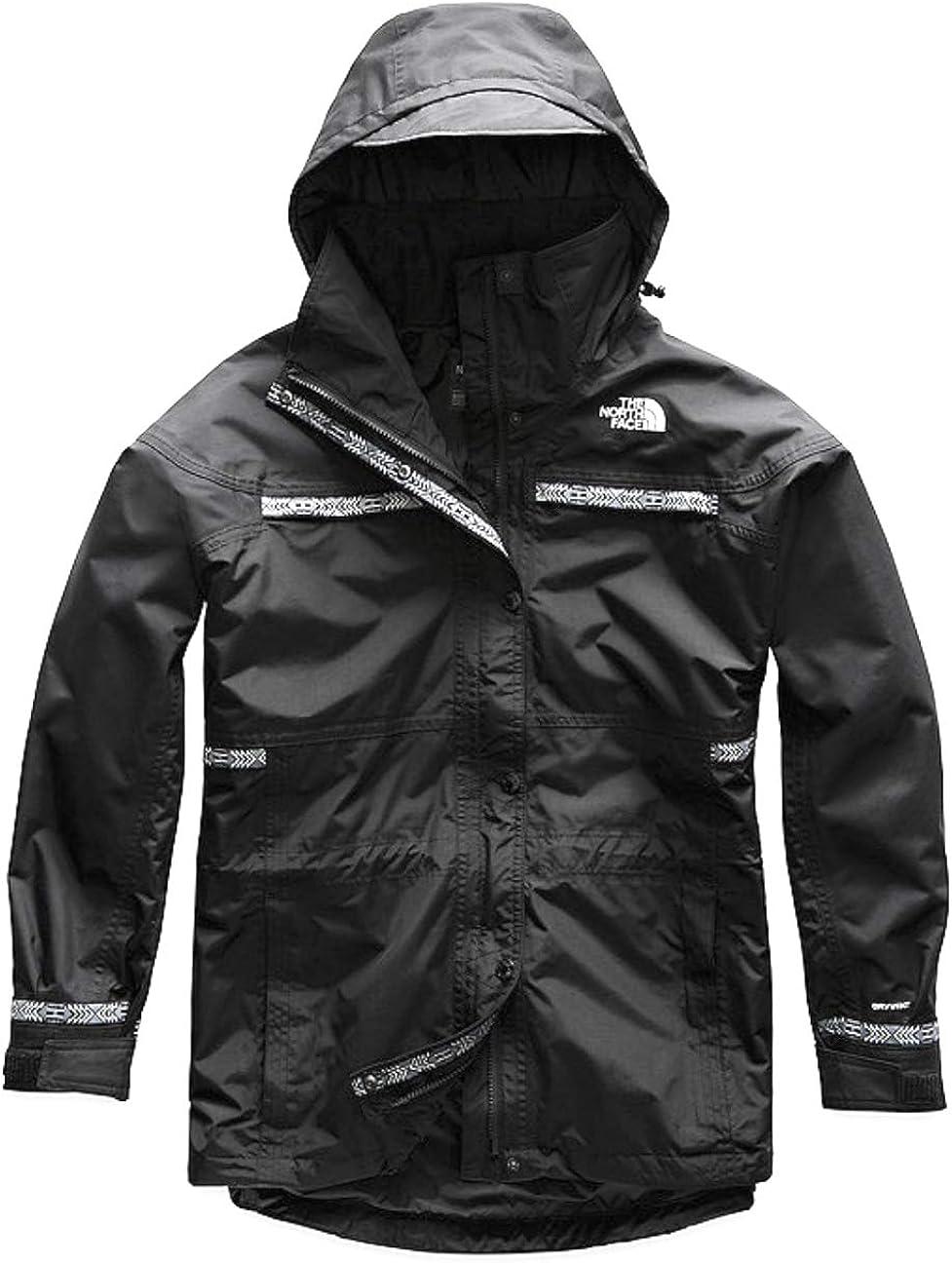 The North Face Mens 92 Retro Rage Rain Jacket in Black XX-Large