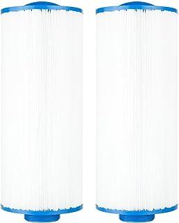 Clear Choice Pool Spa Filter 5.19 Dia x 12.50 in Cartridge Replacement for Cal Spa Baleen AK-90106 Filbur FC-0195, [2-Pack]