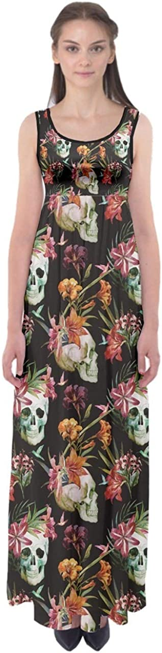 CowCow Womens Sugar Skull Flowers Max 85% OFF of Day Floral Mexican Skeleton Limited time cheap sale