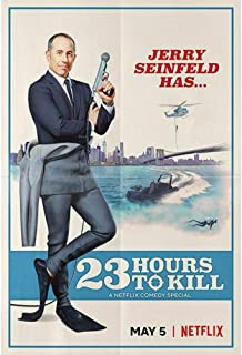 Jerry Seinfeld 23 Hours to Kill Movie Poster Wall Art Pictures Canvas Posters en Prints HD Print Olieverf Muurschildering ...