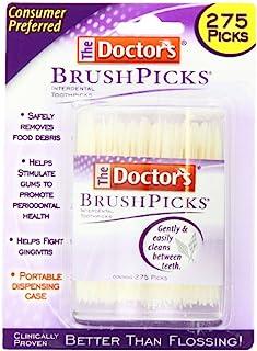 The Doctor's BrushPicks Interdental Toothpicks, 275 Picks